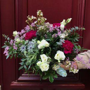 Bouquet de fleurs fraîches choix du fleuriste