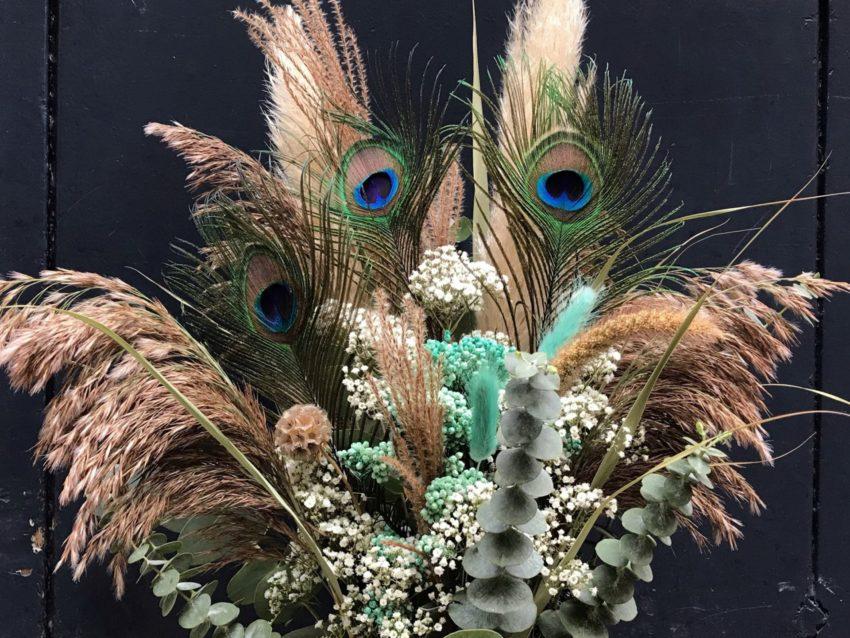 bouquet de fleurs séchées faune et flore 60 euros