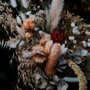 Bouquet de fleurs séchées nature douce XL