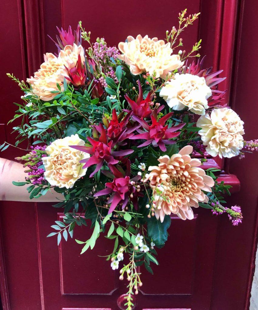 Bouquets de fleurs fraîches choix du fleuriste